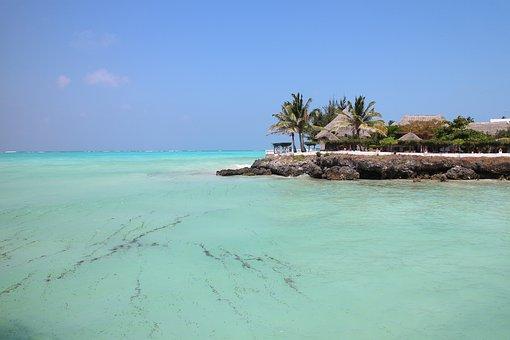 paradiesischer Ort in Sansibar