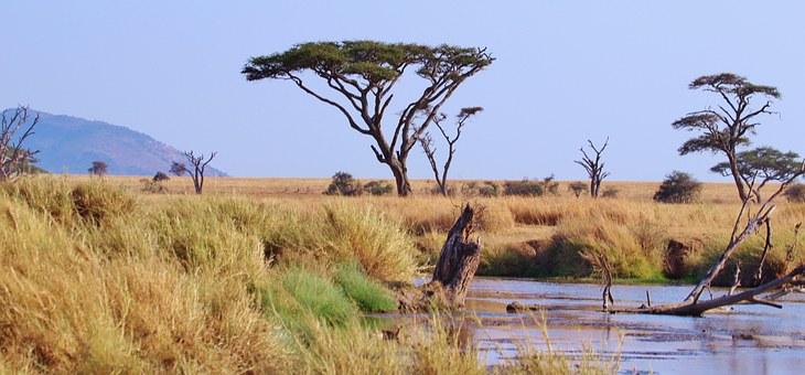 einzigartige Landschaften in Äthiopien