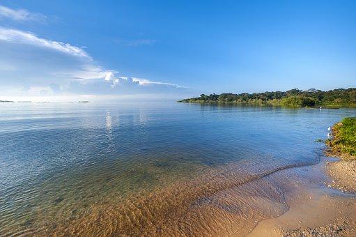Strand am Viktoriasee