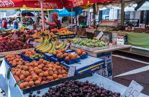 Bauermarkt in Kroatien