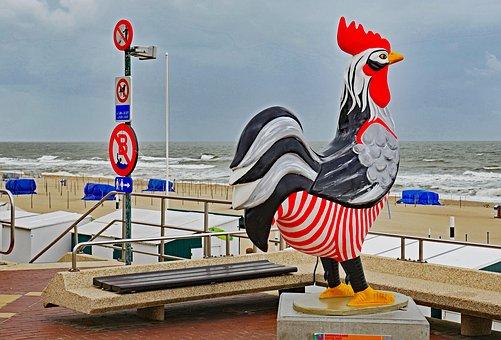 De Haan Nordseeküste in Belgien