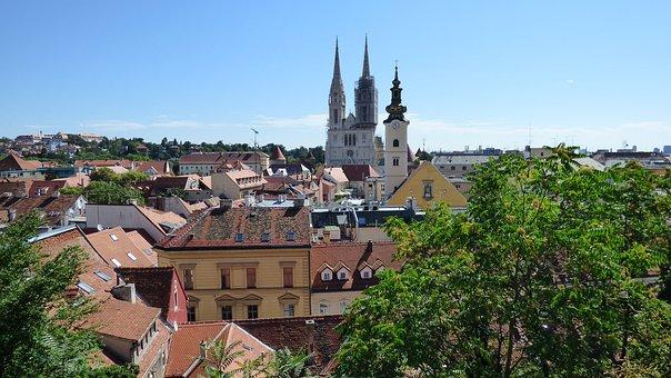Kroatiens Hauptstadt Zagreb