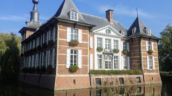 Wasserburg in Antwerpen