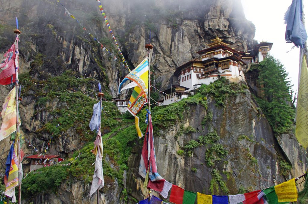 Backpacking in Bhutan - Taktshang-Kloster