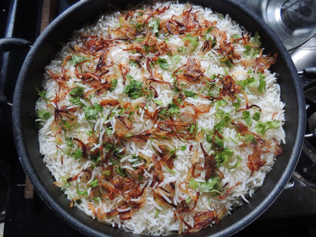 Backpacking in Pakistan - Biryani