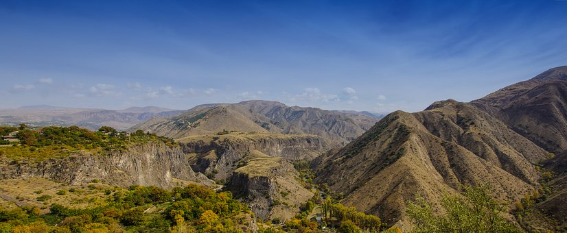 Gebirgslandschaft Armenien