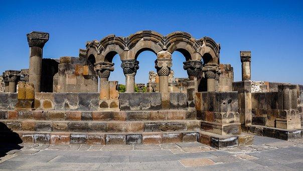 Kirchen Ruine in Armenien