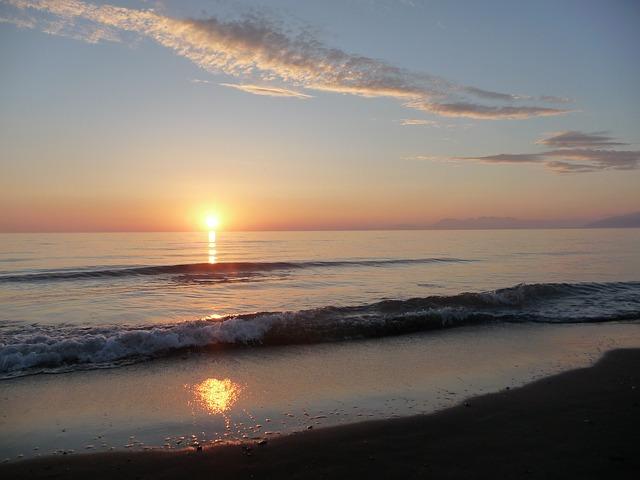Albanien Sunset