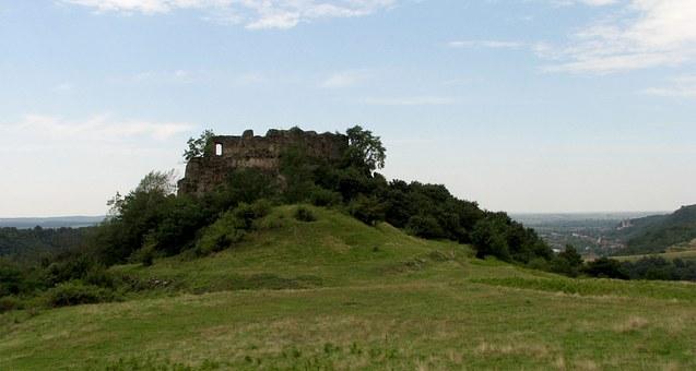 Soimos Festung in Rumänien