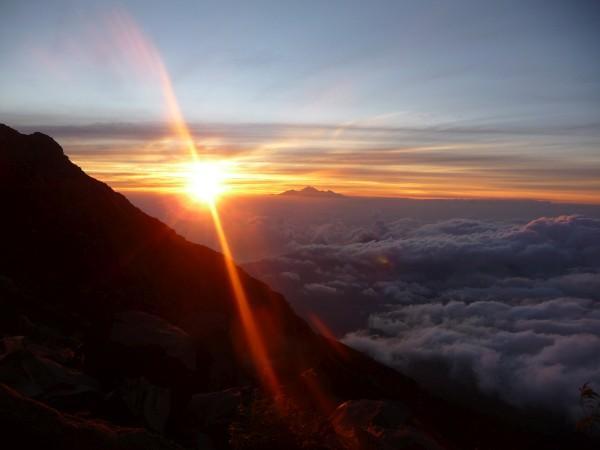 Sonnenaufgang Bali