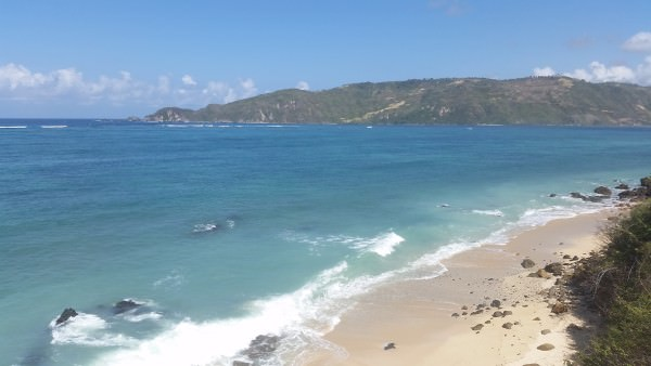unberührter Strand