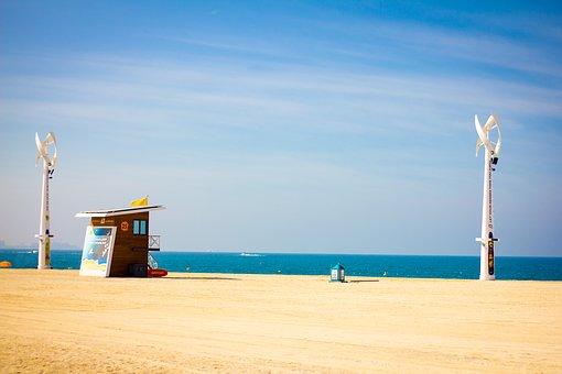 Sonnen, Strand und Meer in Dubai
