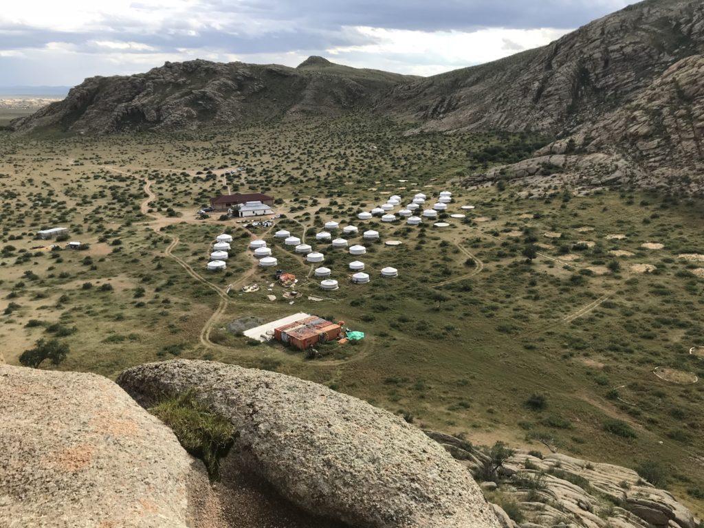 Jurtencamp in der Mongolei: Tourismus ist eine große Einnahmequelle