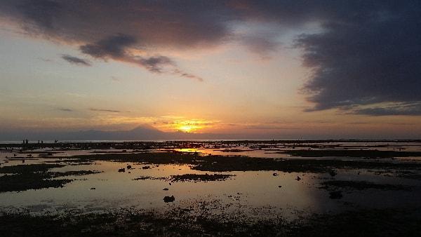 Sonnenuntergang Mount Agung