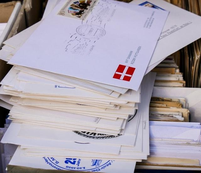 Ungeöffnete Post