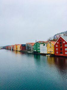 Trondheim Häuser