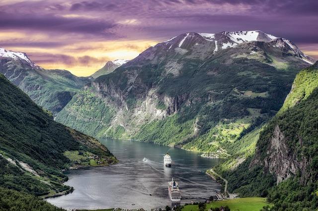 norwegen fjords
